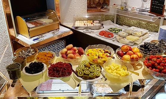Hotel Graf Eberhard Frühstücksbuffet